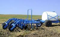 Прицепной культиватор КУ-6,2А с прицепным оборудованием для внесения жидких минеральных удобрений