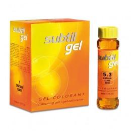 LABORATOIRE DUCASTEL Стойкая гелевая краска для волос - Ducastel Subtil gel 50 мл 6-01 - тёмный блондин натура