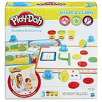 Обучающий набор Play-Doh Учимся считать Play-Doh Shape and Learn Numbers and Counting