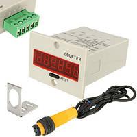 ZYC11-6H система подсчета посетителей, счетчик цифровой 10-36В с фотодатчиком