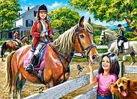 Пазлы Castorland Верховая езда, 300 элементов