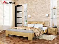 Кровать Титан тм Эстелла Массив бука, 180х190/200, №102 Бук натуральный