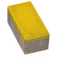 Плитка тротуарная Брусчатка 200x100x60 мм сахара