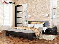 Кровать Титан тм Эстелла Массив бука, 180х190/200, №106 Венге