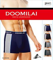 """Мужские боксеры стрейчевые марка """"DOOMILAI"""" Арт.D-02006, фото 2"""