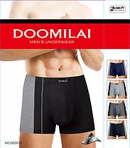 """Мужские боксеры стрейчевые марка """"DOOMILAI"""" Арт.D-02012, фото 2"""