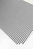 Упаковочная бумага серая полоска 68х48см