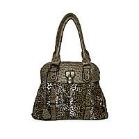Женская сумка арт.8827 Леопардовый-бежевый