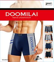 Чоловічі стрейчеві боксери Марка «DOOMILAI» Арт.D-02013, фото 2