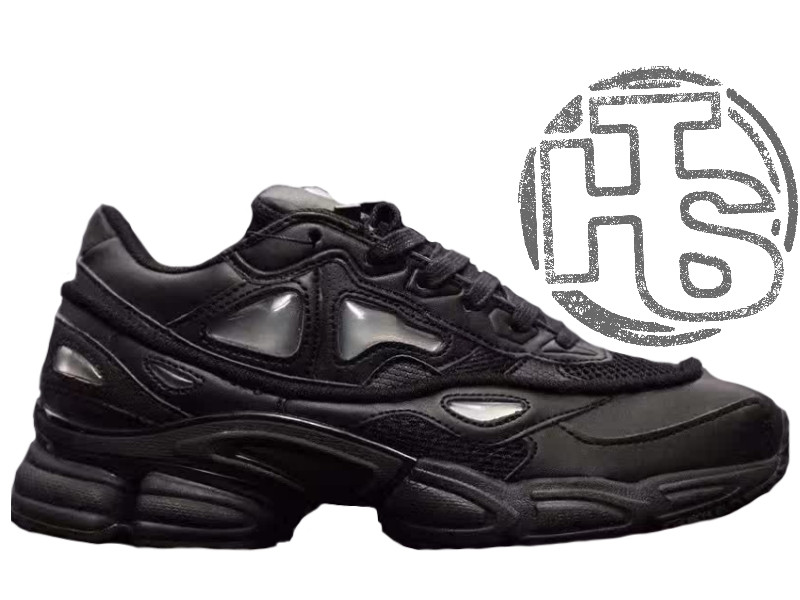 Мужские кроссовки Adidas Raf Simons Ozweego 2 All Black S74585 - Интернет-магазин