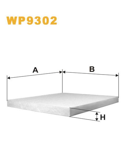 Фильтр салонный WIX WP9302 (K1232)