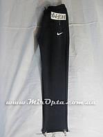 Спортивные штаны мужские Nike трикотаж на флисе черные