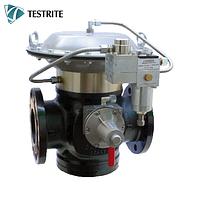 Газовый регулятор ALFLUX DN50 с пилотируемым запуском для среднего и высокого давления