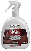Жидкость для очистки изделий из гладкой кожи LEATHER WASH LIQUID Coccine, 400 мл