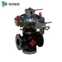 Газовый регулятор ALFLUX DN100 с пилотируемым запуском для среднего и высокого давления