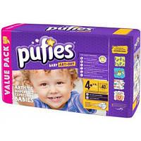 Pufies подгузники Baby Art & Dry 4+ (9-16 кг.) 40шт