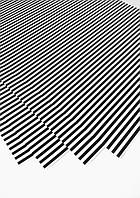 Упаковочная бумага черная полоска 68х48см
