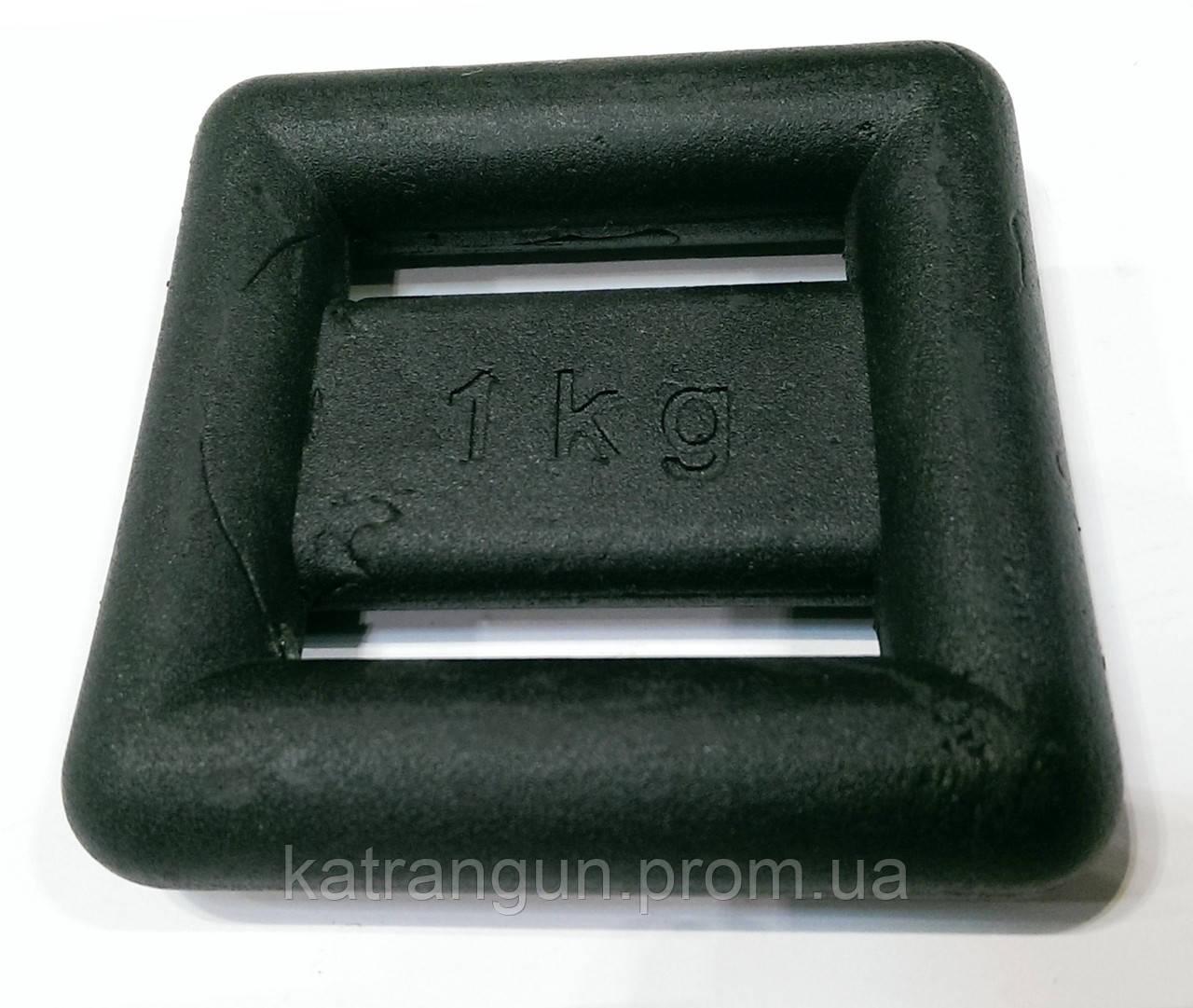 Груз для подводной охоты 1 кг; крашеный - Магазин подводного снаряжения KatranGun — подводная охота, дайвинг, плавание, бассейн, обучение ПО в Киеве