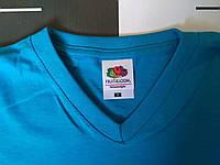 Мужская футболка с V-образным вырезом Fruit of the Loom 61-066-0