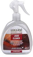 Чистящее средство для изделий из кожи и текстиля Coccine LIQUID CLEANER , 400 мл, с цветочным запахом