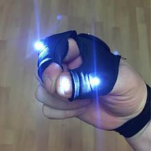 Перчатки для рыбаков со встроенными фонариками в перчатку,доставка из Китая
