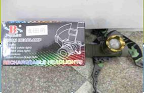 Налобный фонарик BL-6866-XPE