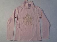 Гольф трикотажный с микроначесом школьный для девочки р.116-146
