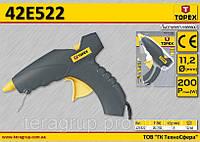 Пистолет клеевой электрический 200Вт,  TOPEX  42E522