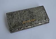 """Отличный кожаный кошелек для девушек серебристого цвета натуральная кожа  """"MICHAELKORS"""""""