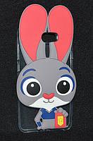 Чехол Huawei Y5 II/CUN-U29, Rabbit (Хуавей у5 2, Чехол-накладка, бампер, защита для телефонов, кейс )