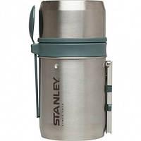 Термос для еды Stanley Mountain 0.6 л с ложкой стальной (01700-002), фото 1