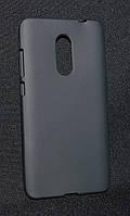 Чехол Xiaomi Redmi Note 4x черный(Ксиоми редми Нот 4х,чехол-накладка, бампер, защита для телефонов, кейс )