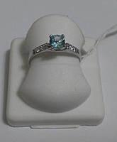 Кольцо женское серебряное родированное  Милашка