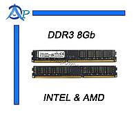 DDR3 8Gb оперативная память PC3-12800 1600МГц для INTEL и AMD (KVR16N11/8)
