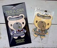 """Стильный ароматизатор авто/гардероб """"Green tea Ted"""" Зеленый чай"""