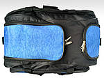 Сумка дорожня Удача, 30*55*30 см, синій, фото 7