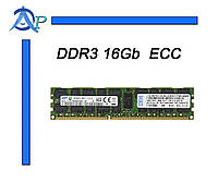 Оперативная память DDR3 16Gb PC3-12800 1600MHz Samsung (M393B2G70BH0-CK0) 2RX4 REG ECC для серверов