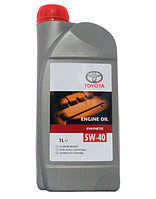 Масло моторное Toyota 5W-40 Synthetic 1л
