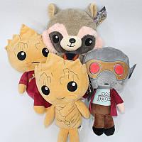 Мягкая игрушка-брелок Стражи Галактики 4 вида Guardians of the Galaxy