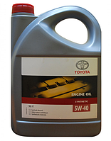 Масло моторное Toyota 5W-40 Synthetic 5л
