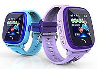 Детские часы с GPS водонепроницаемые DF25G aqua