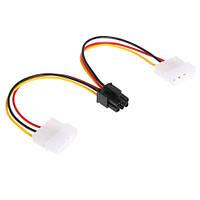 Переходник 2x IDE Molex - PCI-E 6pin для видеокарт