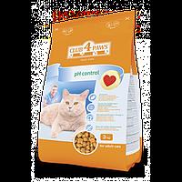 Club 4 Paws повнораціонний сухий корм для дорослих котів підтримка здоров'я сечовидільної системи