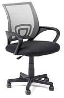 Офисный стул-кресло на колесиках серого цвета Comfort grey