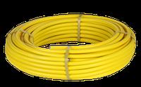 Труба гофрированная для газа из нержавеющей стали SS304 DISPIPE 25HFPY, отожженная в желтой оболочке