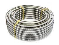 Металорукав гофрированный из нержавеющей стали DISPIPE 15GF-C (W), для кабельканала с протяжкой