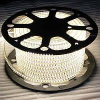 LED лента 220V 120led/m SMD5730 8W IP67 Белый