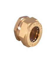 Заглушка никелированная DISPIPE BS15x1/2 (W)N