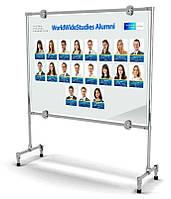 Рекламно-информационный стенд 1400х1000 мм (Рекламное поле: ПВХ пластик с полноцветным изображением; )