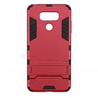 Ударопрочный чехол с функцией подставки Transformer для LG G6 / G6 Plus H870 / H870DS красный